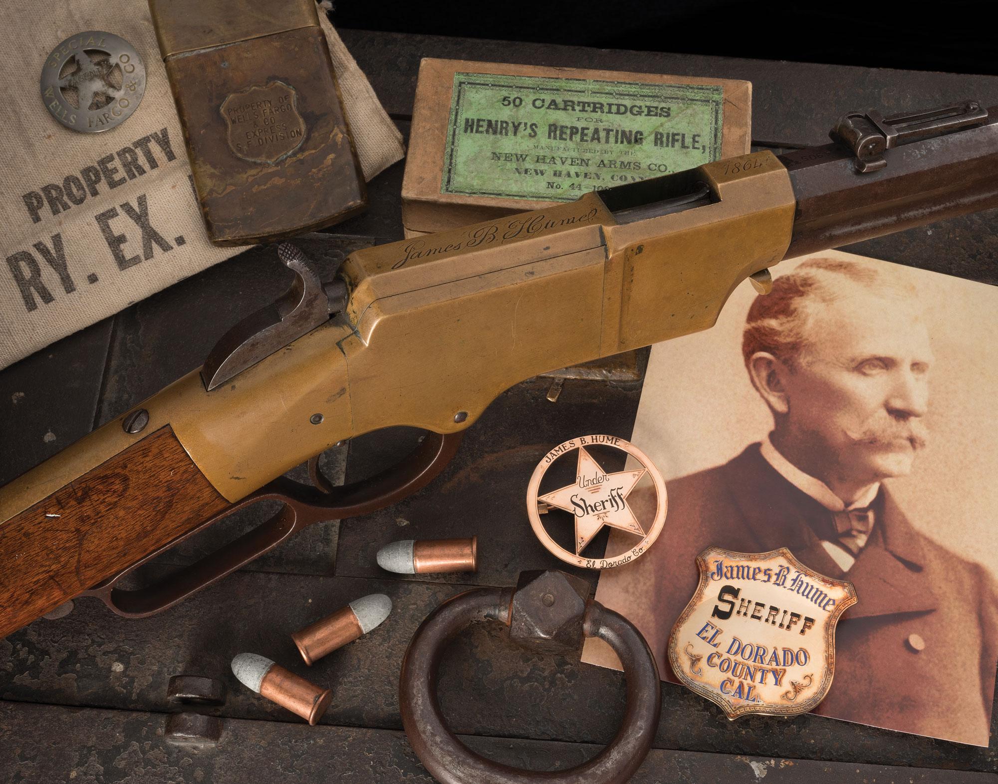 Sheriff James Hume Henry Rifle