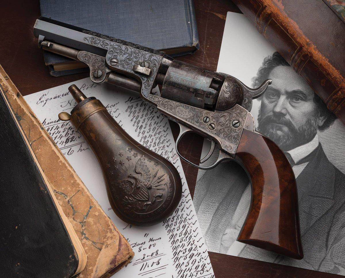 Sam Colt presented 1849 pocket