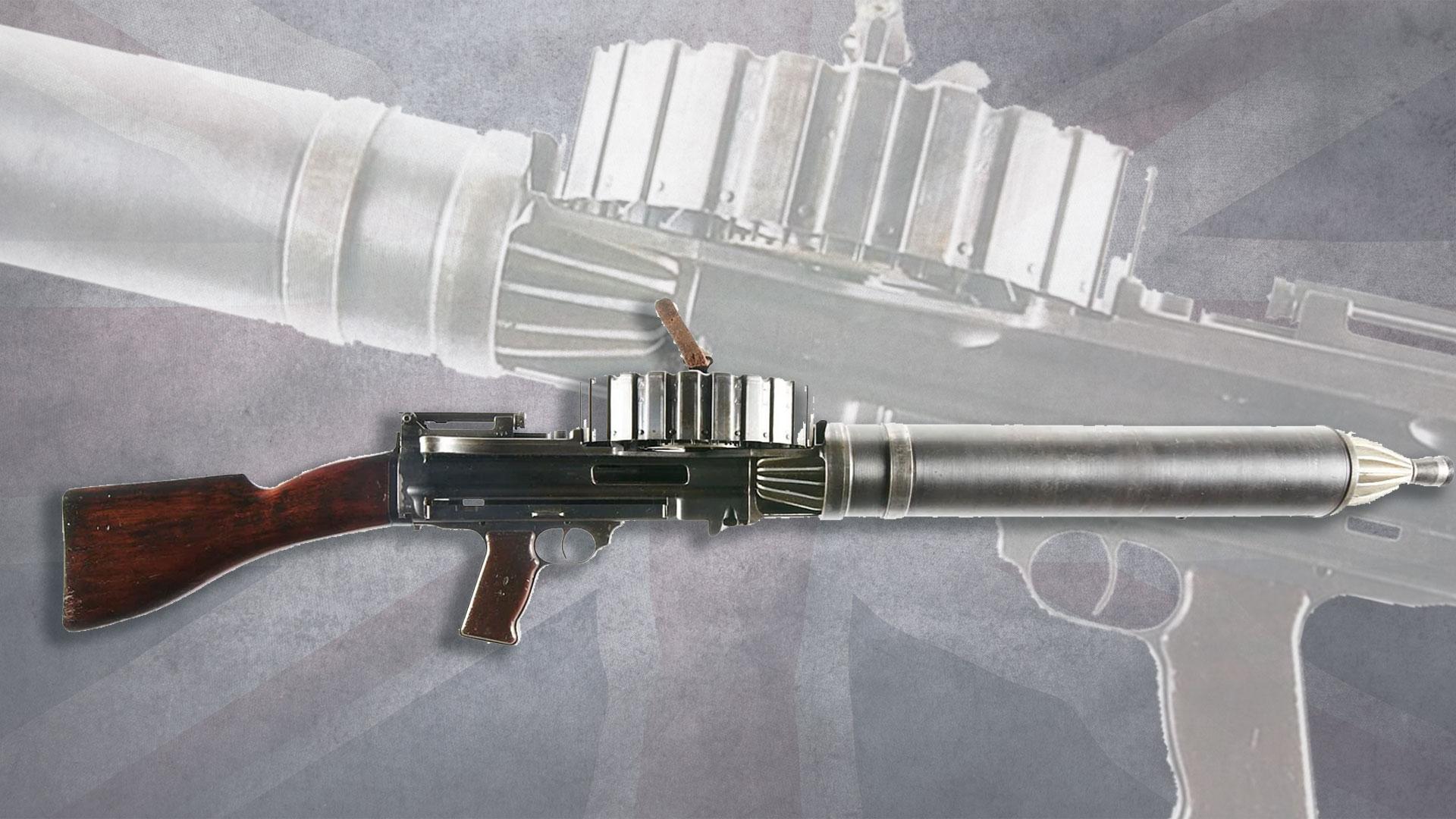 BSA-Model-1914-Lewis-Gun,-Class-III-DEWAT-Machine-Gun