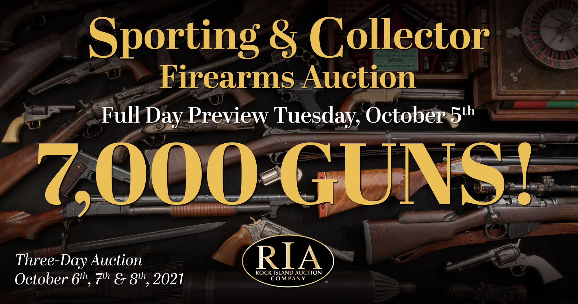 October S&P Firearms Auction