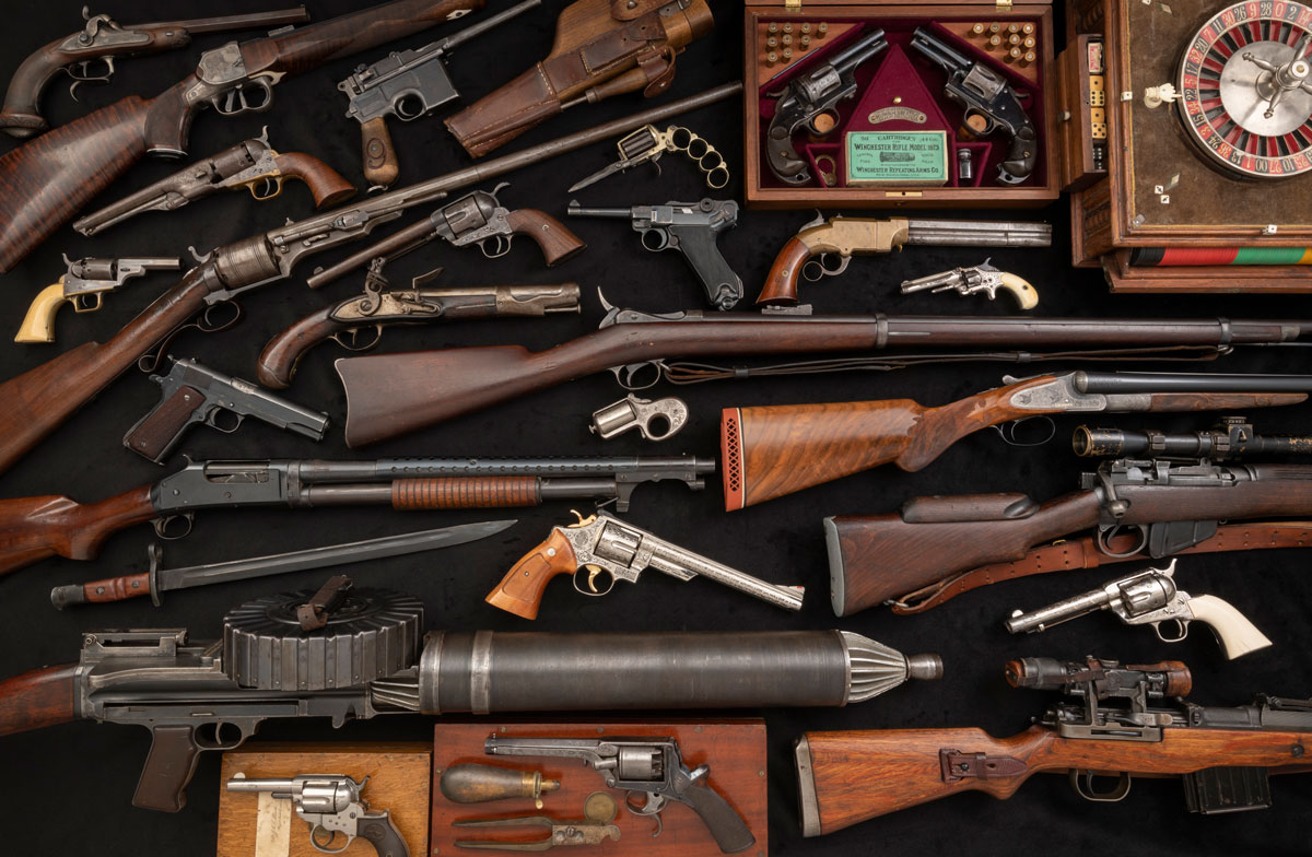 October Sporting & Collector Firearms Auction Selection