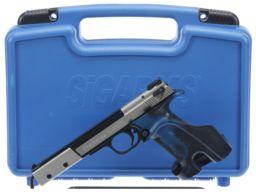 Sig Hammerli Trailside Semi-Automatic Pistol with Case