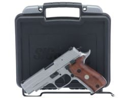 Engraved Sig Sauer P226 Semi-Automatic Pistol with Case