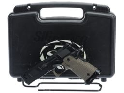 STI International Costa Ludas Carry Comp Semi-Automatic Pistol with Case
