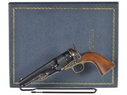 Colt 1860 Army Butterfield Overland Despatch Revolver with Case
