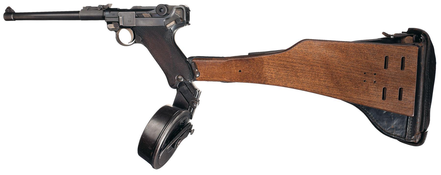 Sturmtruppen Firepower : The Artillery Luger