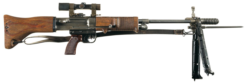 FG42 WWII Krieghoff Heinrich Machine Gun Sniper