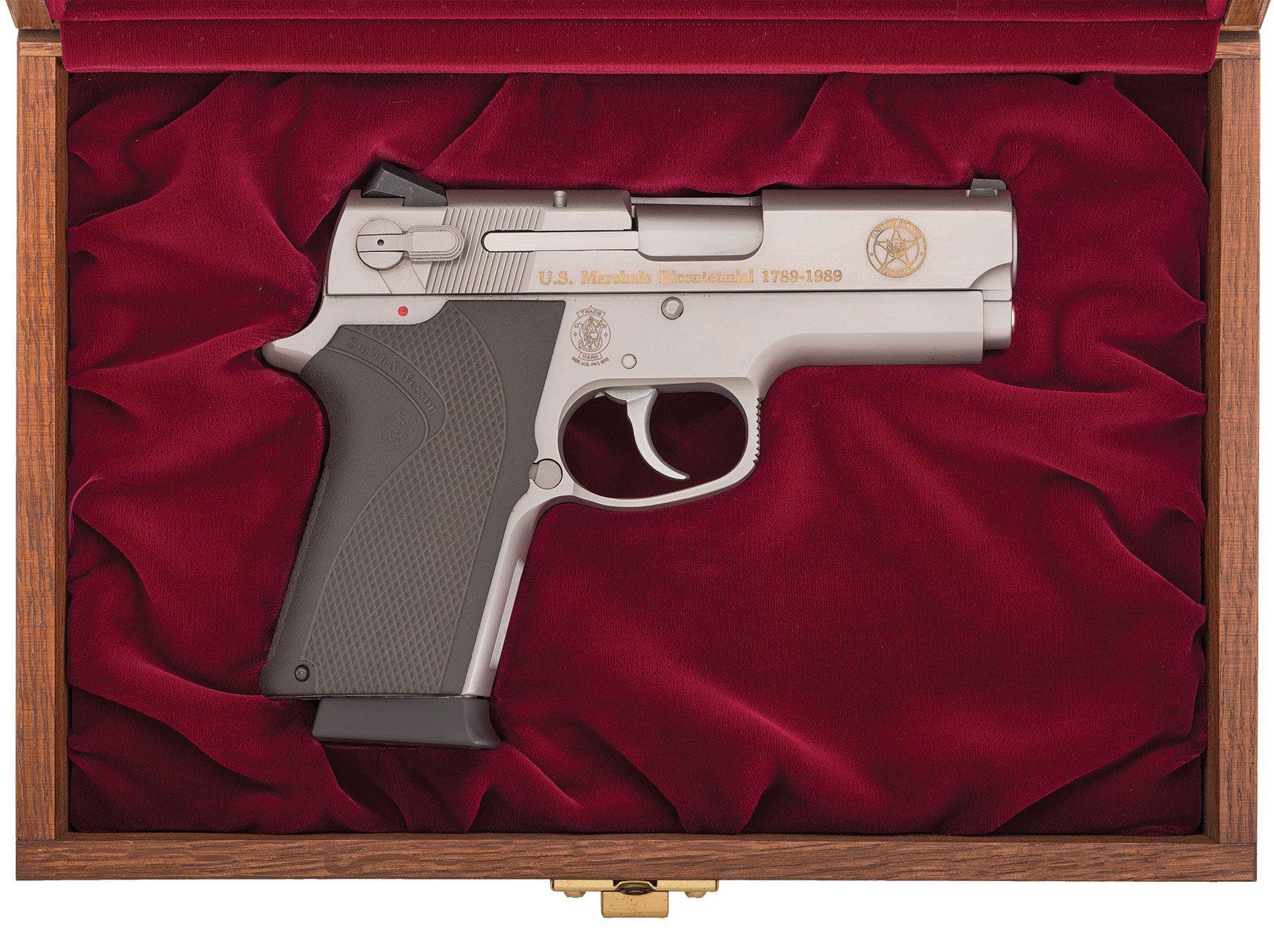Us Marshal Auction >> S&W Model 4516-1 U.S. Marshal Bicentennial Prototype Pistol