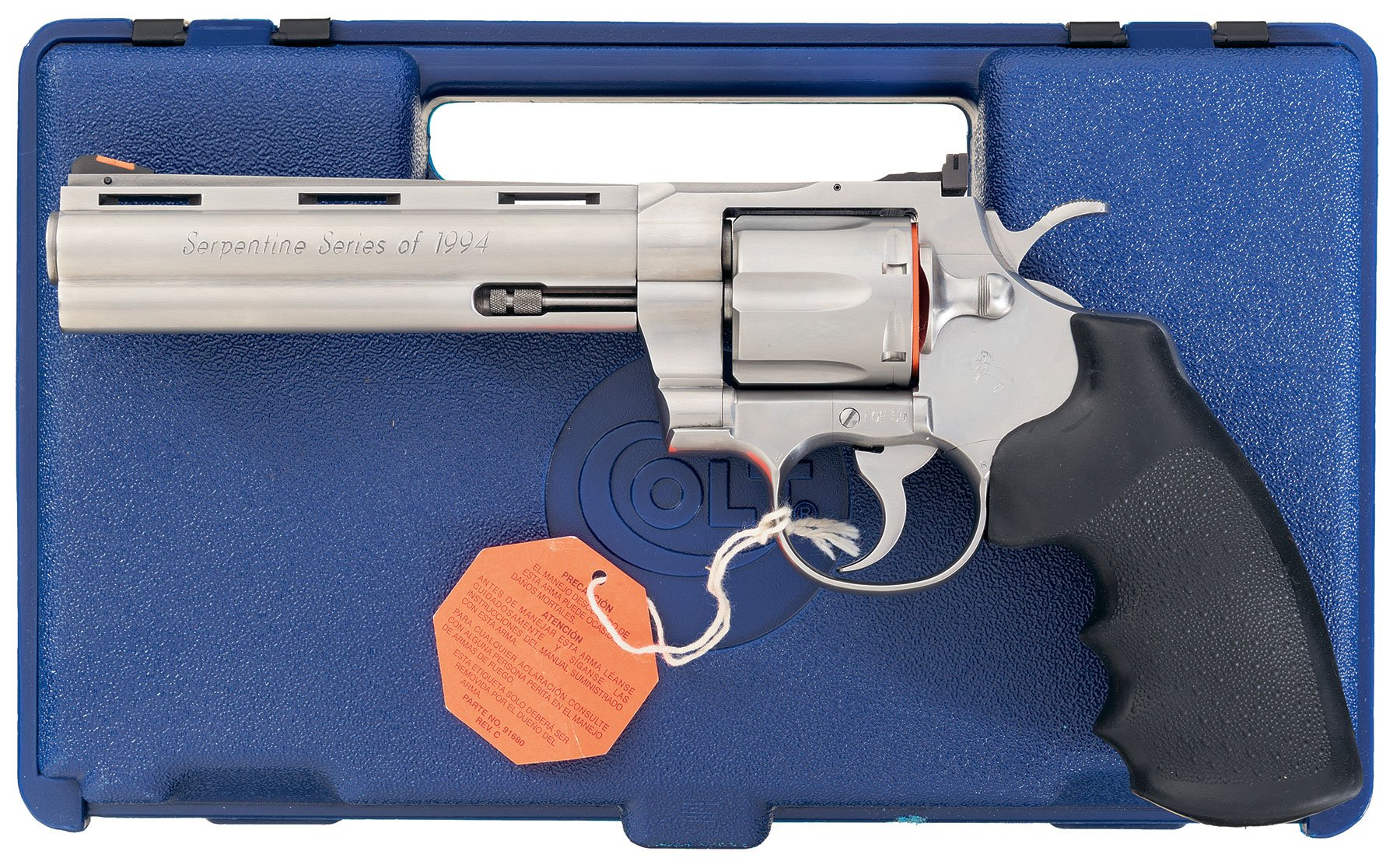 Colt Serpentine Series of 1994 Python with Factory Letter