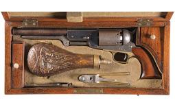 Cased Colt Model Colt Civilian Walker Revolver