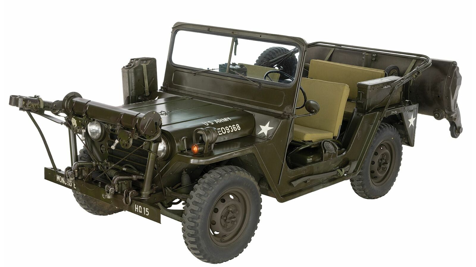 Vietnam War Era U S Ford M151a1 Minesweeper Jeep With Rare P170