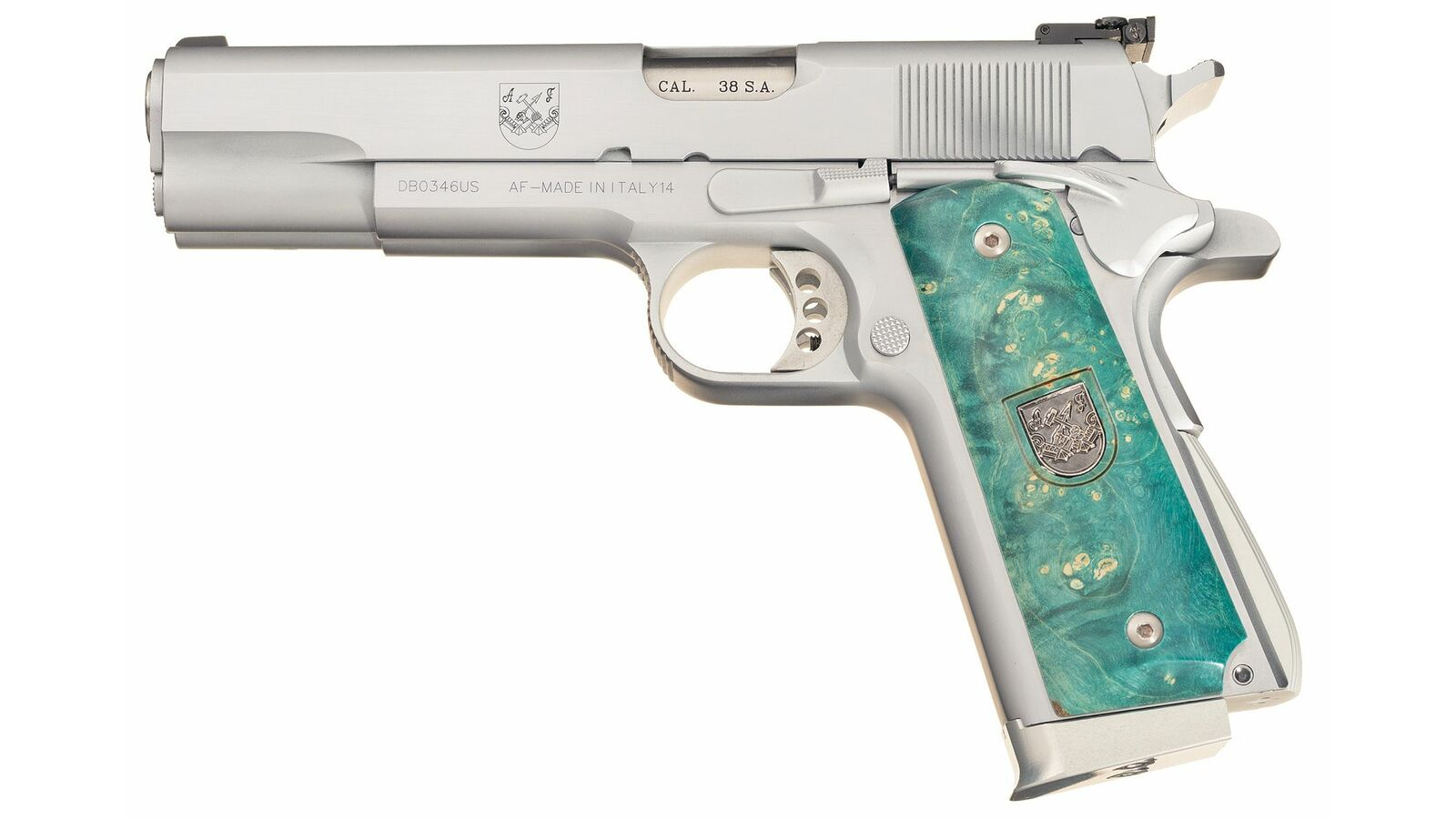 Af2011 A1 arsenal firearms af2011-a1 double barrel semi-automatic pistol