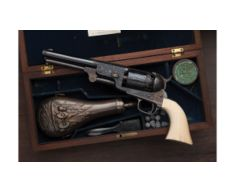 G. Young Engraved Colt Millikin Dragoon Revolver