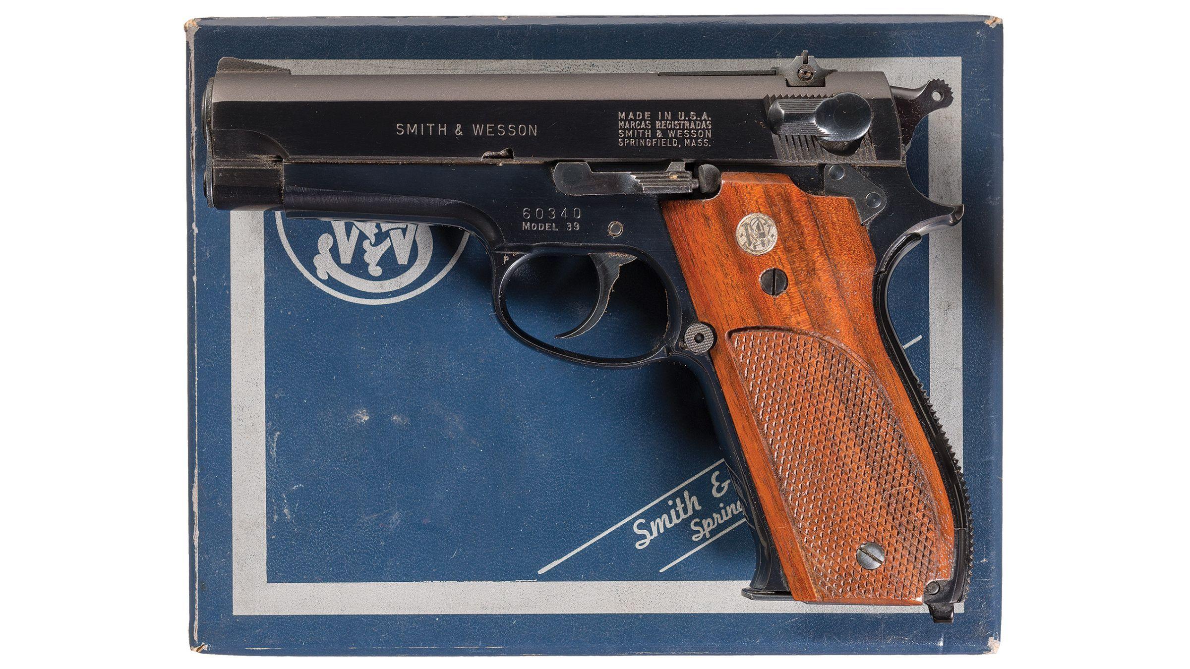 Dating een Smith en Wesson Model 41