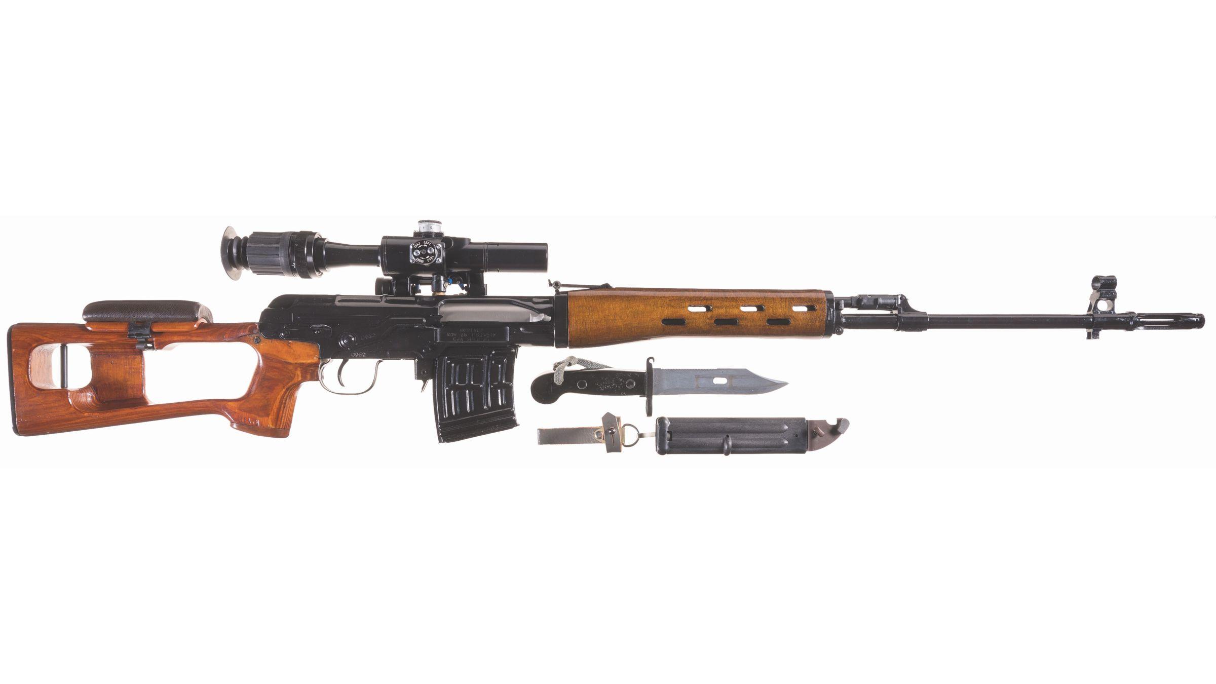 Norinco Ndm 86 Dragunov Sniper Rifle With Scope Accessories