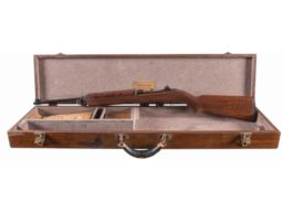 "Exceptionally Rare and Historic World War II Rock-Ola Factory Presentation M1 Carbine To ""Mr. H. Veneklasen"", Staff Member to Secretary of War Henry Stimpson with Deluxe Presentation Display Case and Accessories"