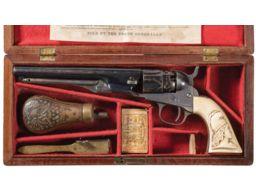 Cased Colt Model 1862 Police Percussion Revolver